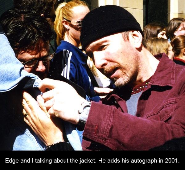 Edge, U2, U2 memoir
