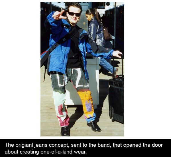U2 jeans, u2 memoir, U2