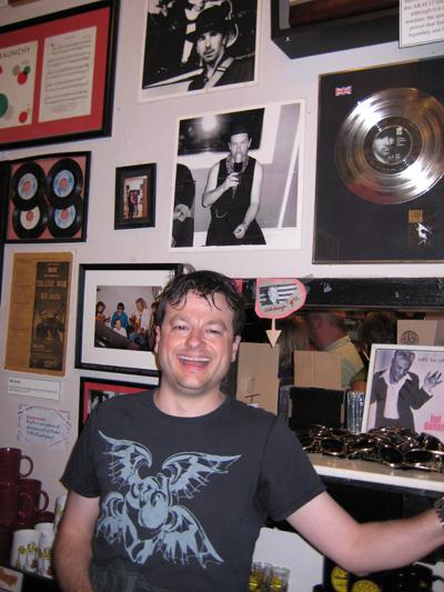 Eric Shivvers, U2 memoir, U2